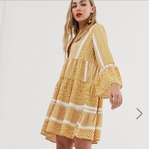Only printed smock dress from Asos